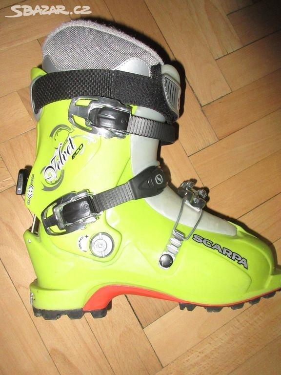 Dámske skialp lyžiarky Scarpa Velvet ECO  571fdc427c6
